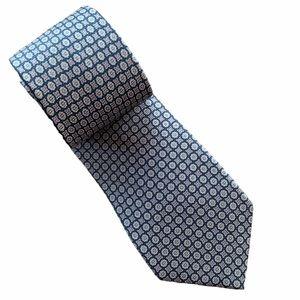 Black Brown 1826 Men's Silk Tie